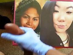 BBW Asian Teen Cum Tribute