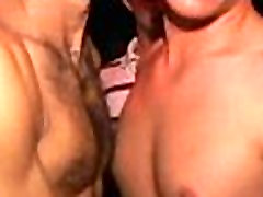 Gay males jerk off and engulf
