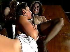 Incredible pornstars Devon Shore and April Diamonds in hottest lesbian, vintage porn scene