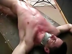Amazing male in fabulous bdsm, fetish gay porn clip