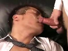 Horny male in crazy asian, fetish homo sex scene
