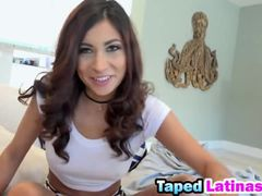 Latina babe loves to get analed by a random dude