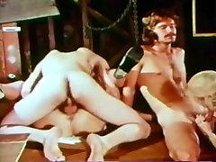 Vintage deepthroating for cum
