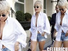 Rita Ora Nude Ebony Celebrity Hotness