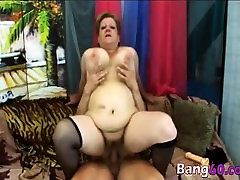 Bbw Blonde Granny Venuse Gives Head And Banged