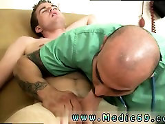 Gay male doctor fucks straight young and mature men medical