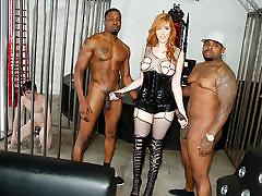 Black Cock Anal with Lauren Phillips - car checkout Sessions