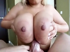 Hottest POV video with Big Natural Tits,Blonde scenes