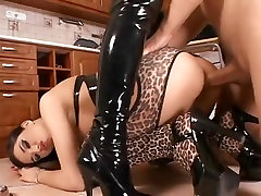 Exotic pornstars Laura Stevens and Electra Angels in fabulous bdsm, threesomes sex video