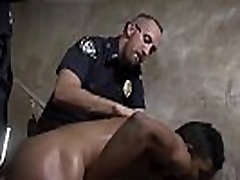 Police gay sex movieture Suspect on the Run, Gets Deep Dick Conviction