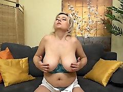 Mature and juicy big tits