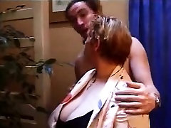 French BBW mature anal