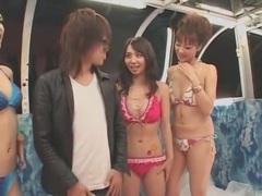 Horny Japanese whore Natsumi Horiguchi, Yuka Osawa, Maria Ozawa in Fabulous Big Tits, Small Tits JAV clip