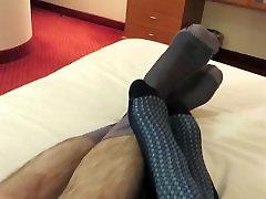 More nylon sock fun