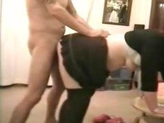 Sexy slut gets a good fucking cum on her tits