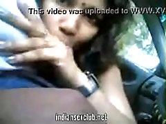 Tamil indian desi blowjob in car