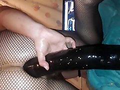 Big black dildo
