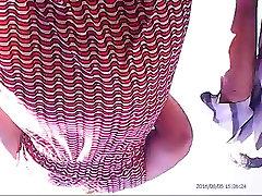 Upskirt mixed-1! Amateur hidden cam!