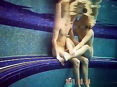 Voyeur at the nudist pool
