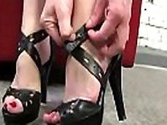 Black Meat White Feet - Interracial Foot Fetish XXX Video 26