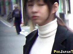 Asian teen sluts urinate
