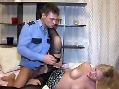 slut in pantyhose fuck by police