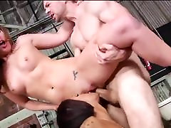 Double Anal Adventure in Anbandoned Factory