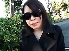 Sexy Asian milf showing her pussy part5