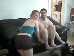 Horny Homemade video with Couple, Panties and Bikini scenes