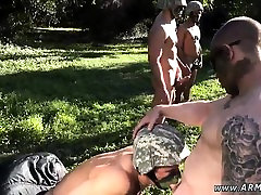 Gay porn soldier boots Taking the recruits on their first ru