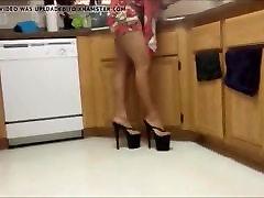 Platform High Heel Thongs