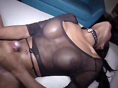 Hot Sexy Hung Black Shemale ! by -DarkDemon-