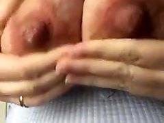 mature big milking tits