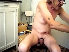 Crazy amateur gay clip with Fetish, Solo Male scenes