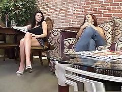 Fabulous pornstars Chasity Rain and Nilaya Brown in amazing brunette, lesbian xxx video