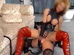 1990&039;s lesbian fetish play