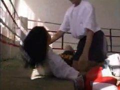 Boxing Russian Lesbians