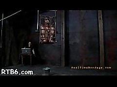 Sadomasochism sex movie scene