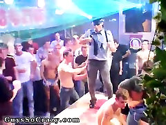 Cute boys have gay sex party Guys love a guy in uniform, tha
