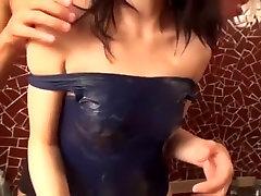 Hottest Japanese chick Miyu Hoshisaki in Amazing Small Tits, Bathroom JAV video