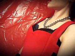 Mistress Emma & slave with collar