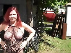 Redhot Redhead Show 8-8-2017 Caught in Public 3 Times!