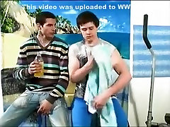 Exotic amateur gay movie with Blowjob scenes