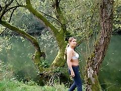 Exotic amateur Big Natural Tits, Softcore sex video