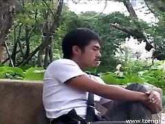 Sexy Hunk Ah Xian Spa Trip