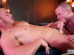 Sweet twinky loves a firm meat pipe in his gaping hole