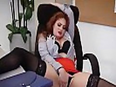 Sex In Office With Big Round Tits Girl Lennox Luxe video-22