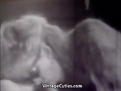 Man&039;s Cock Sucked by a Hot Babe 1960s Vintage