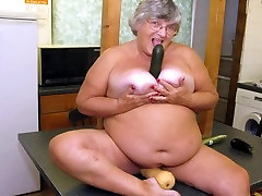 Amazing amateur Oldie, BBW sex scene