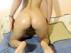 Big Tit Babe Plays on Webcam